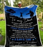 Blanket - To My Dad - Forever & Always (Debbie)