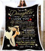 Blanket - Mermaid - Daughter (Mom) - You Are My Sunshine