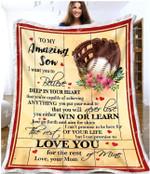 Blanket - Baseball - Son (Mom) - Love You For The Rest Of Mine