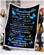 Blanket - Butterfly - Granddaughter (Granmomma) - Once Upon A Time