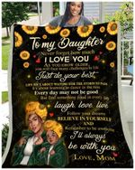 Blanket - Black - Daughter (Mom) - I'Ll Always Be With You