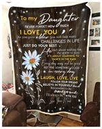 Blanket - Daisy - Daughter (Mom) - I'Ll Always Be With You