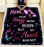 Blanket - Butterfly - Mom...Your Wings