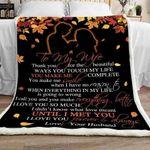 Blanket -  To My Wife - Until I Met You