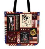 Tote Bag - Marine Wife
