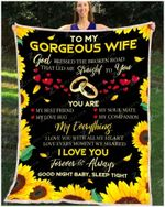 Mk - Blanket - Family - Gorgeous Wife - My Everything