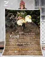 Blanket - Eagle - To My Wife - God Blessed The Broken Road
