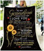 Blanket - Grandson (Grandma) - You Are My Sunshine