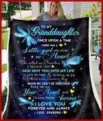 Blanket - Dragonfly - Granddaughter (Grandma) - Once Upon A Time