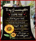 Pp - Blanket - Granddaughter (Grandma) - I'Ll Always Be With You