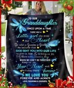 Blanket - Dragonfly - Granddaughter (Grandma & Grandpa) - Once Upon A Time