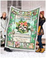Blanket - Sloth - You Will Always Be - Love Grandpa