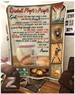 Blanket - Baseball - Baseball Player'S Prayer