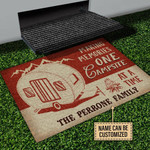 Personalized Making Memories One Campsite At A Time The Perrone Family Customized Doormat