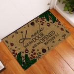 Knock And The Door Will Be Opened Matthew Doormat