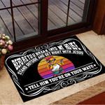 Gangster Chicken Before You Break Into My House Doormat Front Door Decor Funny Doormat Gift For Friends