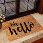 Oh Hello Doormat Funny Welcome Mat Frontgate Front Door Mat Outdoor