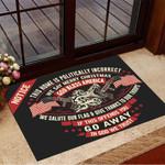 Snake Notice This Home Is Politically Incorrect We Say Merry Christmas Doormat Indoor Door Mats