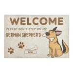 Welcome Please Dont Step On My German Shepherd Doormat