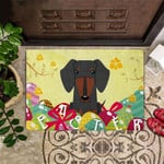 Dachshund Easter Doormat For Front Porch Mat Easter Decorative Door Mat Inside Outside