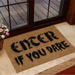 Halloween Doormat Enter If You Dare Floor Mat Halloween Merchandise
