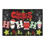 Merry Christmas Penguin Hohoho Doormat