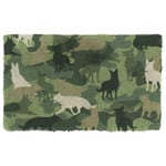 German Shepherd Camo Doormat