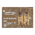 I Hope You Have A Good Reason To Make Our German Shepherds Doormat