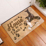Italian Greyhound Dogs Are Family In This House Doormat
