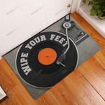 Dj Wipe Your Feet Doormat  Welcome Mat
