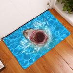 Lovers  Door Mat Ocean Shark