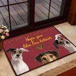 Hope you like fox terrier Dog Funny Outdoor Indoor Wellcome Doormat
