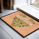 Crazy Plant House Funny Outdoor Indoor Wellcome Doormat