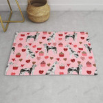 Great Dane harlequin coat dog breed gifts pet patterns for pure breed lovers Funny Outdoor Indoor Wellcome Doormat