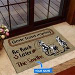 Gone Team Roping Funny Outdoor Indoor Wellcome Doormat