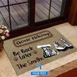 Gone Hiking Funny Outdoor Indoor Wellcome Doormat