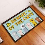 Beware Of The Cats Doormat  Welcome Mat