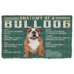 Alohazing 3D Anatomy Of A Bulldog Doormat