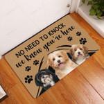 Havanese No Need To Knock - Dog Doormat  Welcome Mat