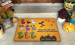 Dachshund Never Mind The Witch Funny Outdoor Indoor Wellcome Doormat