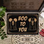 Lovers  Door Mat Boo To You