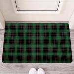 Black Green Plaid Tartan Funny Outdoor Indoor Wellcome Funny Outdoor Indoor Wellcome Doormat