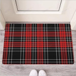 Christmas Red Plaid Scottish Funny Outdoor Indoor Wellcome Funny Outdoor Indoor Wellcome Doormat