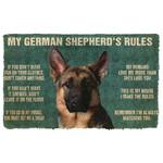 Gearhuman 3D My German Shepherds Rules Doormat