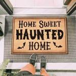Home Sweet Haunted Home Funny Outdoor Indoor Wellcome Doormat