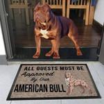 American Bull Dog Funny Outdoor Indoor Wellcome Doormat - Funny Outdoor Indoor Wellcome Doormat