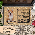 Door Mat Welcome To Our Home