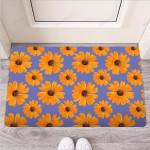 Cute Sunflower Funny Outdoor Indoor Wellcome Funny Outdoor Indoor Wellcome Doormat