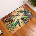 Amazing Turtle Doormat  Welcome Mat