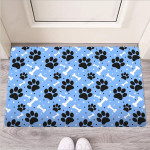 Dog Bone Paw Funny Outdoor Indoor Wellcome Funny Outdoor Indoor Wellcome Doormat